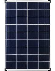 Enjoysolar Poly Module solaire 100 W 12 V Panneau solaire Idéal pour camping-car, jardin solaire häuse, bateau