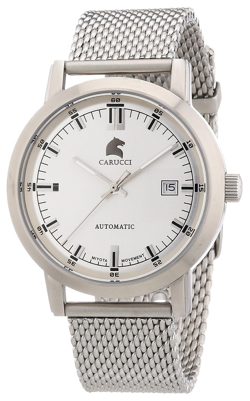 Carucci Watches Messina CA2195ST-SL - Reloj analógico automático para hombre, correa de acero inoxidable