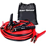 CARTMAN Booster Cable 4 Gauge x 20Ft in Carry Bag