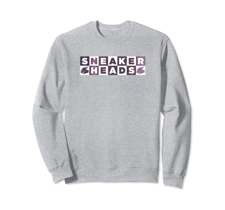 f9b0c4f8bb7 Sneaker Head Eggplant Sweater Foamposites Foams Sweatshirt-TH - TEEHELEN