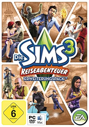 Die Sims 3 Reiseabenteuer Pc Mac Amazon De Games