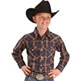 Sprockets Boys Lumber Jack Joe Plaid Western Shirt Baby Toddler Kids