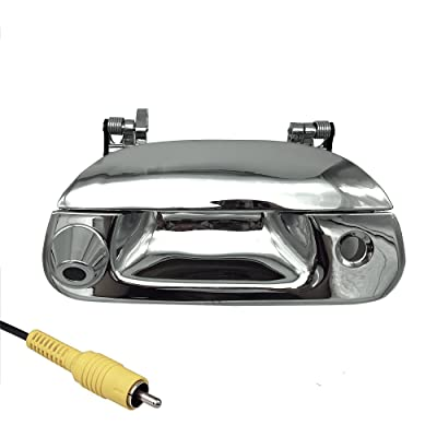 Master Tailgaters Replacement for Ford 1997-2007 F150 F250 F350 F450 F550 Tailgate Backup Reverse Handle with Camera (Chrome): Car Electronics