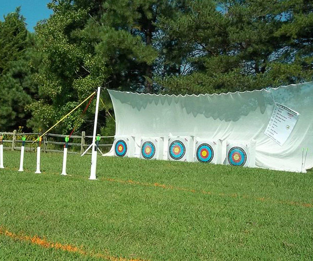 BowZoo Premium Archery Backstop Safety Netting 10' x 20'