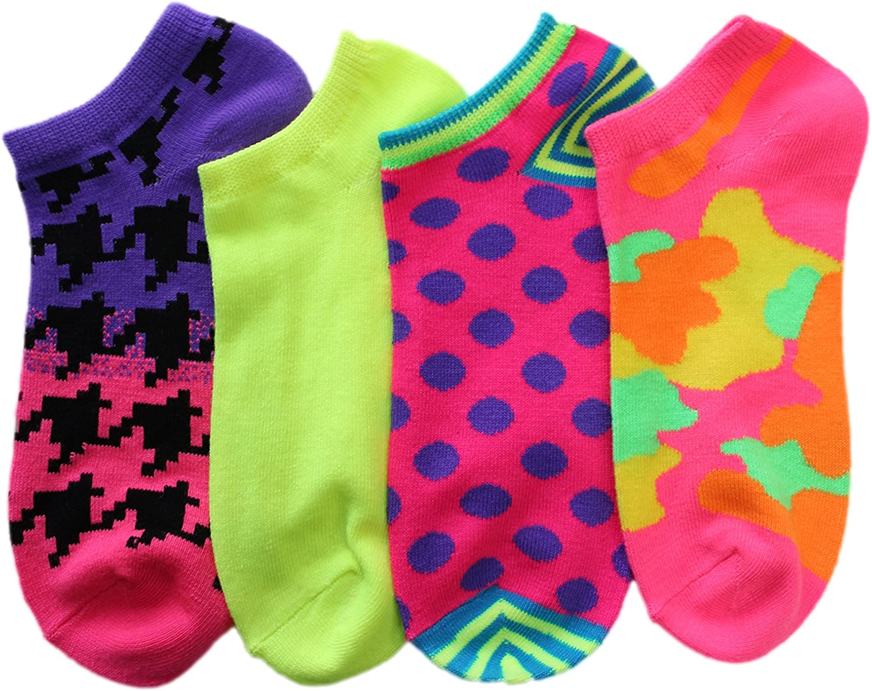Family Socks Women No Show Mix and Match Animal Print Socks