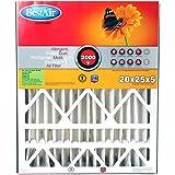"BestAir AB2025-11R Furnace Filter, 20"" x 25"" x 5"", Trion Air Bear Replacement, MERV 11"