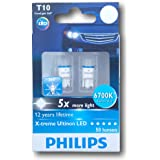Philips T10 X-treme Ultinon 127996700KX2 LED Exterior Light (12V, 1W)
