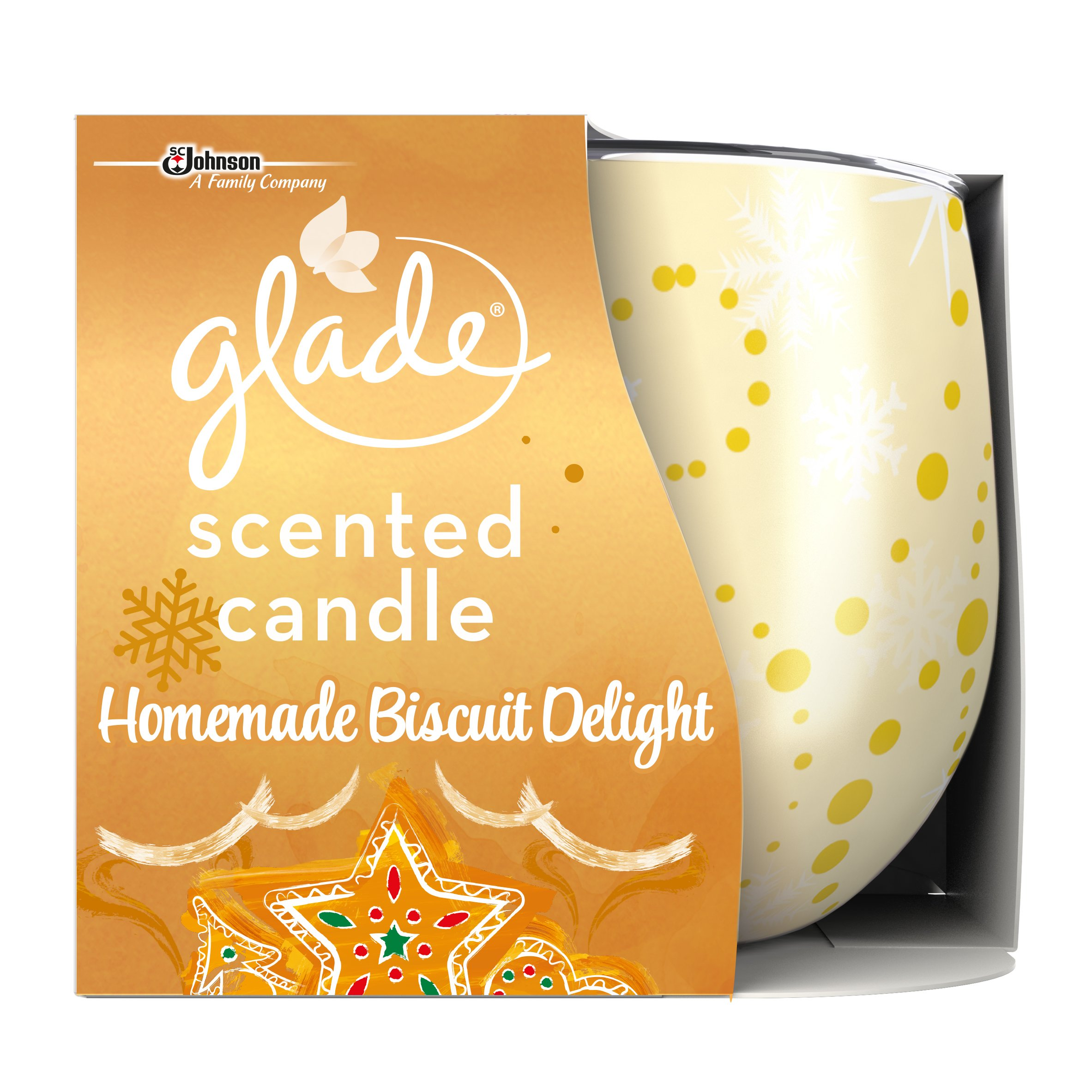 Glade Candle Scented Air Freshener, pack of 3 (Vanilla)