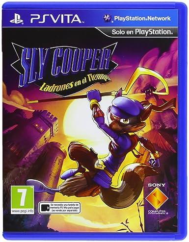 Sly Cooper: Ladrones En El Tiempo: playstation vita: Amazon ...