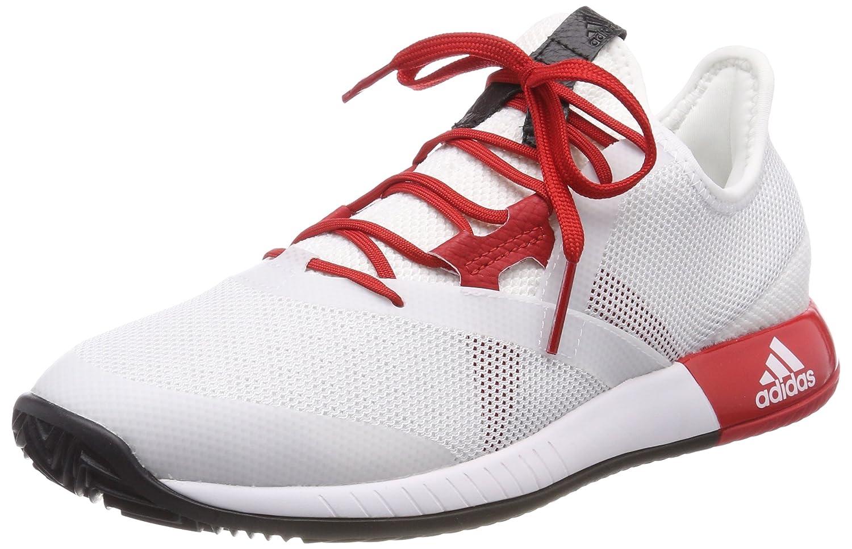 Adidas Adizero Defiant Bounce W, Zapatillas de Deporte para Mujer 38 2/3 EU|Blanco (Ftwbla/Escarl/Negbas 000)