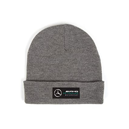 Amazon.com  Mercedes Benz Petronas AMG Formula 1 Gray Beanie  Home ... bac5d59a689