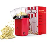 SOLTRONICS Hot Air Popcorn Popper for Home, Popcorn Maker Machine with Removable Measuring Cup, ETL Certified, No Oil, BPA-Fr