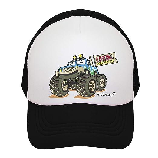 462da990268 Monster Truck on Kids Trucker Hat. The Kids Baseball Cap is Available in  Baby