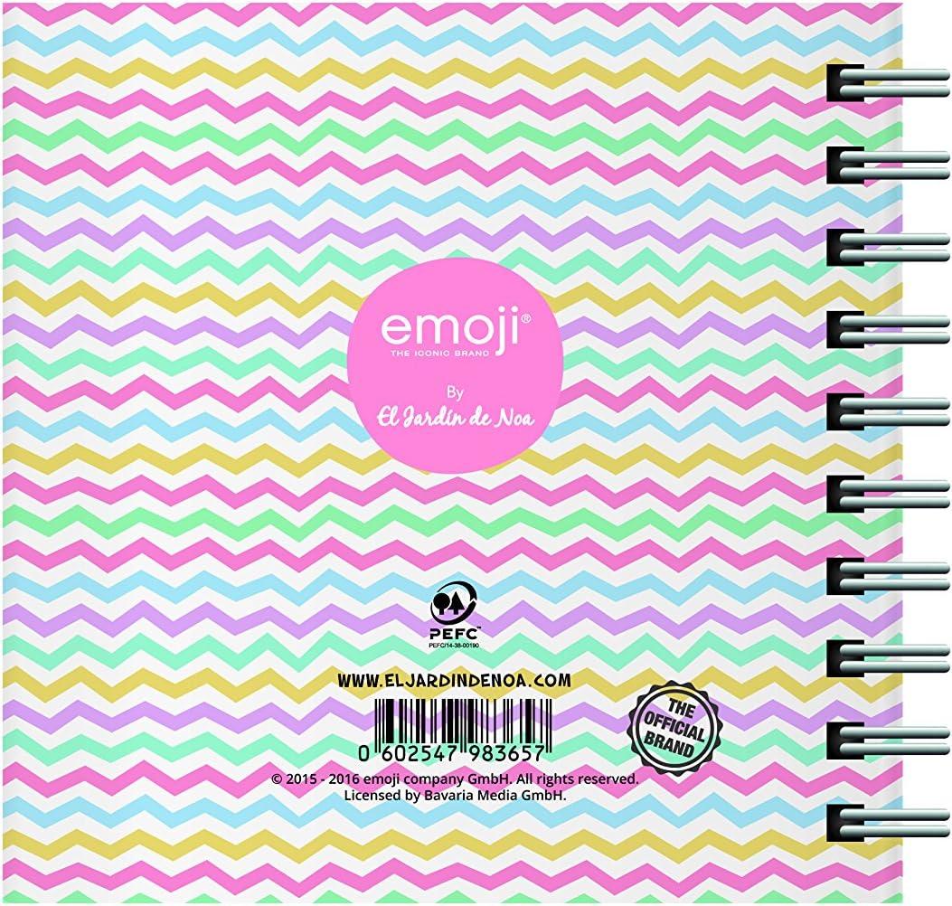 El Jardin de Noa EBN1010B - Bloc de notas: Emoji By Noa: Amazon.es: Oficina y papelería