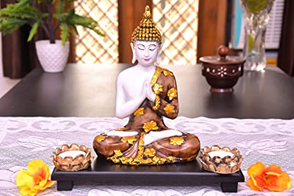 MARINERS CREATION Buddha Statue,Idol for Gift and Home Decor,SHOWPIECE for LIVINGROOM | Bedroom Decoration | Buddha SHOWPIECE | House Warming Gift