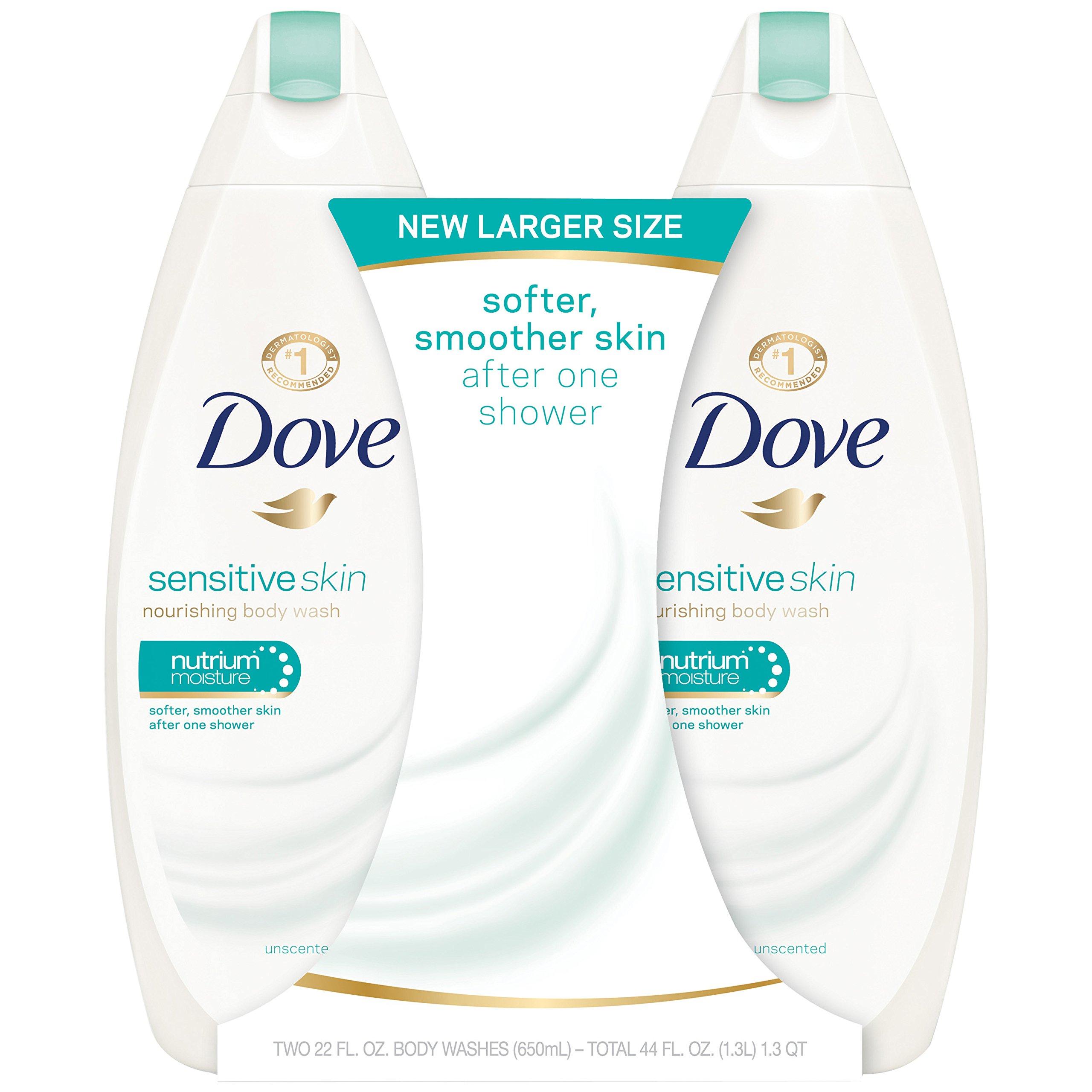Dove Body Wash Sensitive Skin 22 Oz 2 Count Fox And Grapes