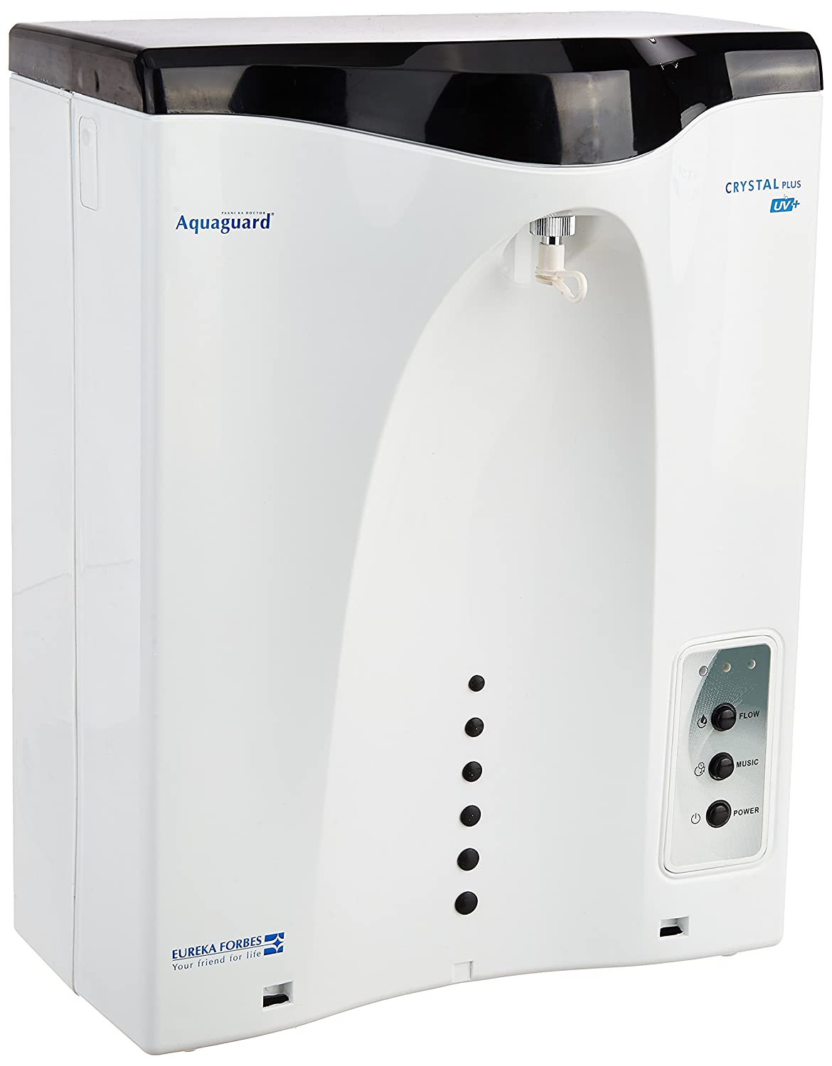 9cd3aac39f88c Eureka Forbes Aquaguard Crystal Plus UV Water Purifier, White
