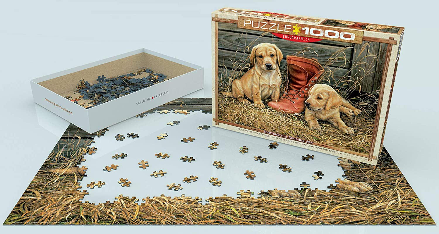 EURHR Something Old Something New by Rosemary Millette 1000Piece Puzzle 1000Piece Jigsaw Puzzle Eurographics - Toys 6000-0795 EuroGraphics