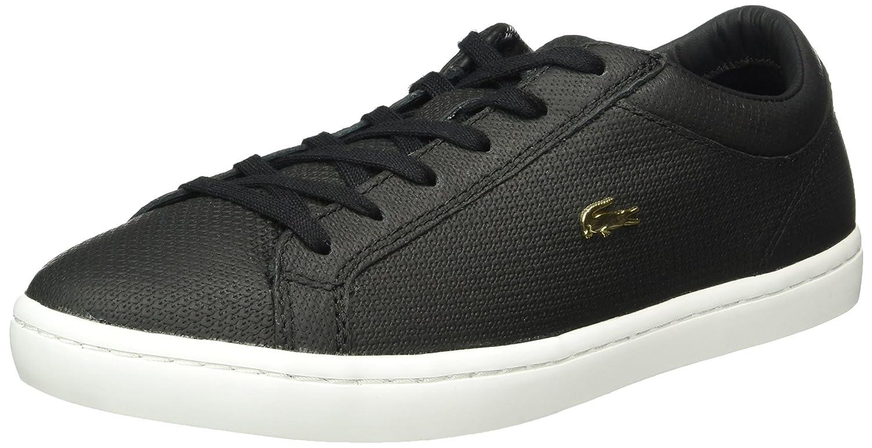 Lacoste Straightset 316 3 - Zapatillas Mujer 41 EU|Negro (Blk 024)