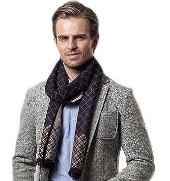 fotos oficiales 88403 16e70 Bufanda de Hombre la tela escocesa cozy Abrigo Del Mantón cuello bufanda  Regalos para Hombre