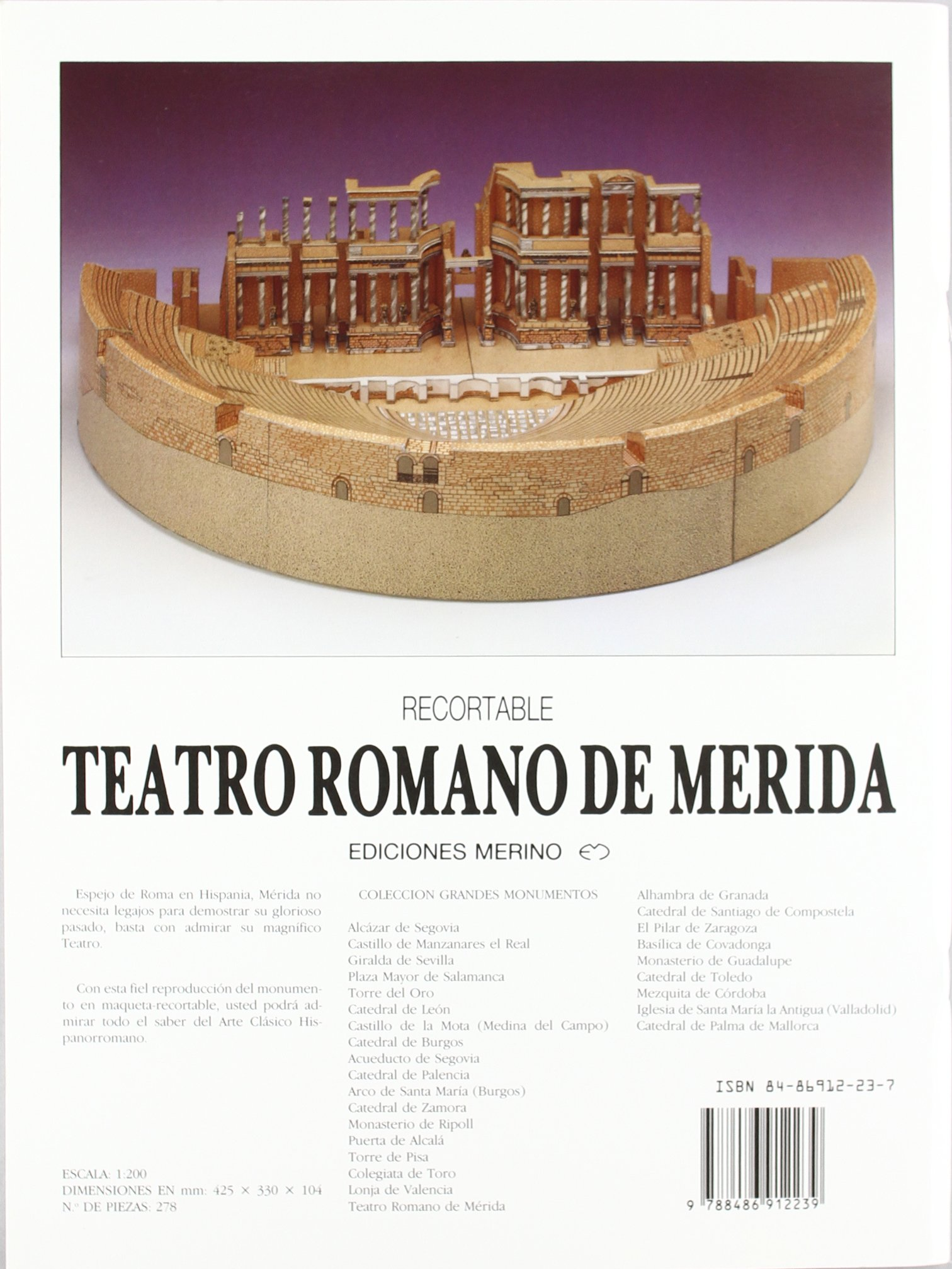 Teatro Romano De Merida: 9788486912239: Amazon.com: Books