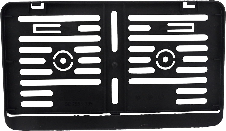 Kennzeichenhalter Schwarz 255 X 135mm Auto