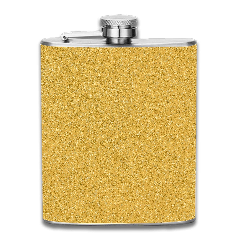 人気No.1 Delicious Ice Cream Liquor ヒップフラスコ 7オンス Glitter4 ステンレススチール ショットフラスコ Liquor 漏れ防止 Gold クールギフト 男性用 one size Gold Glitter4 B07G4K3ML9, 紫波町:ddf49eaa --- a0267596.xsph.ru