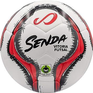 Senda Athletics - Pelota de fútbol Unisex, Color Rojo, Talla 4 ...