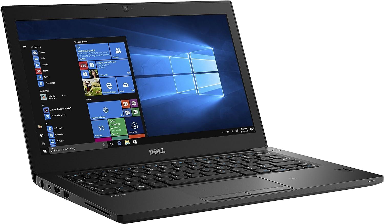 "Dell FXG52 Latitude 7280 Laptop, 12.5"" HD, Intel Core i5-7300U, 8GB DDR4, 128GB Solid State Drive, Windows 10 Pro (Certified Refurbished)"