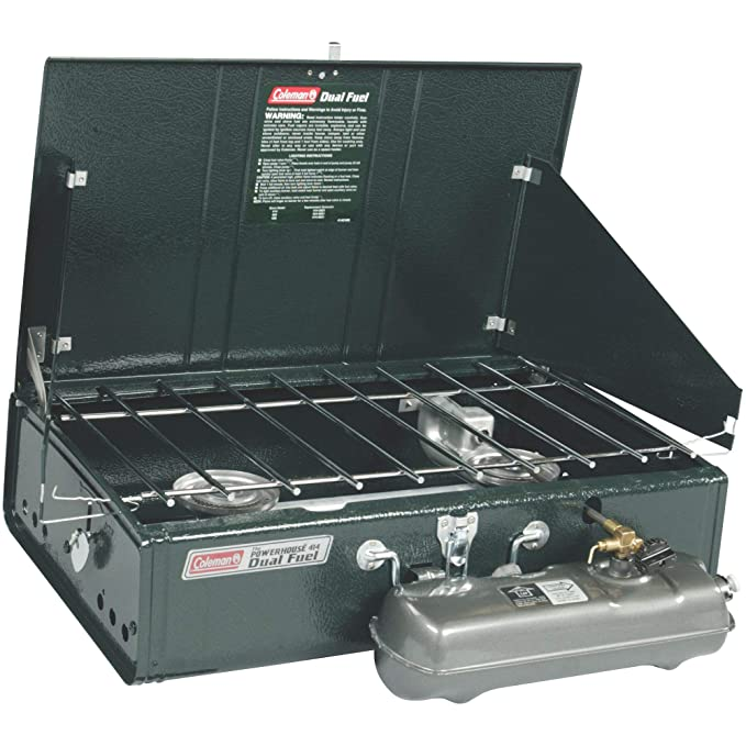 Amazon.com : Coleman Guide Series Powerhouse Dual-Fuel Camping Stove, 2-Burner : Camping Stoves : Sports & Outdoors
