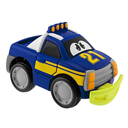 Image Unavailable. Image not available for. Color: Chicco Turbo Touch Crash Derby Toy Vehicle, Blue
