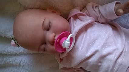 Amazon.es: Muñeca bebé Molly, Heavy, pintado pelo y chupete ...