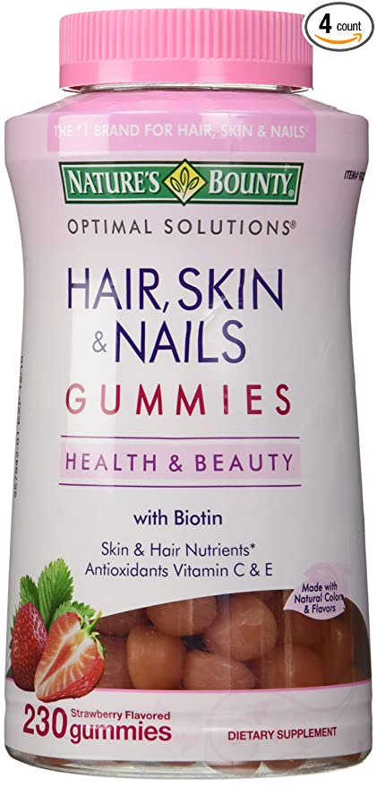 Amazon.com: Nature\'s Bounty Hair Skin and Nails: Health & Personal Care
