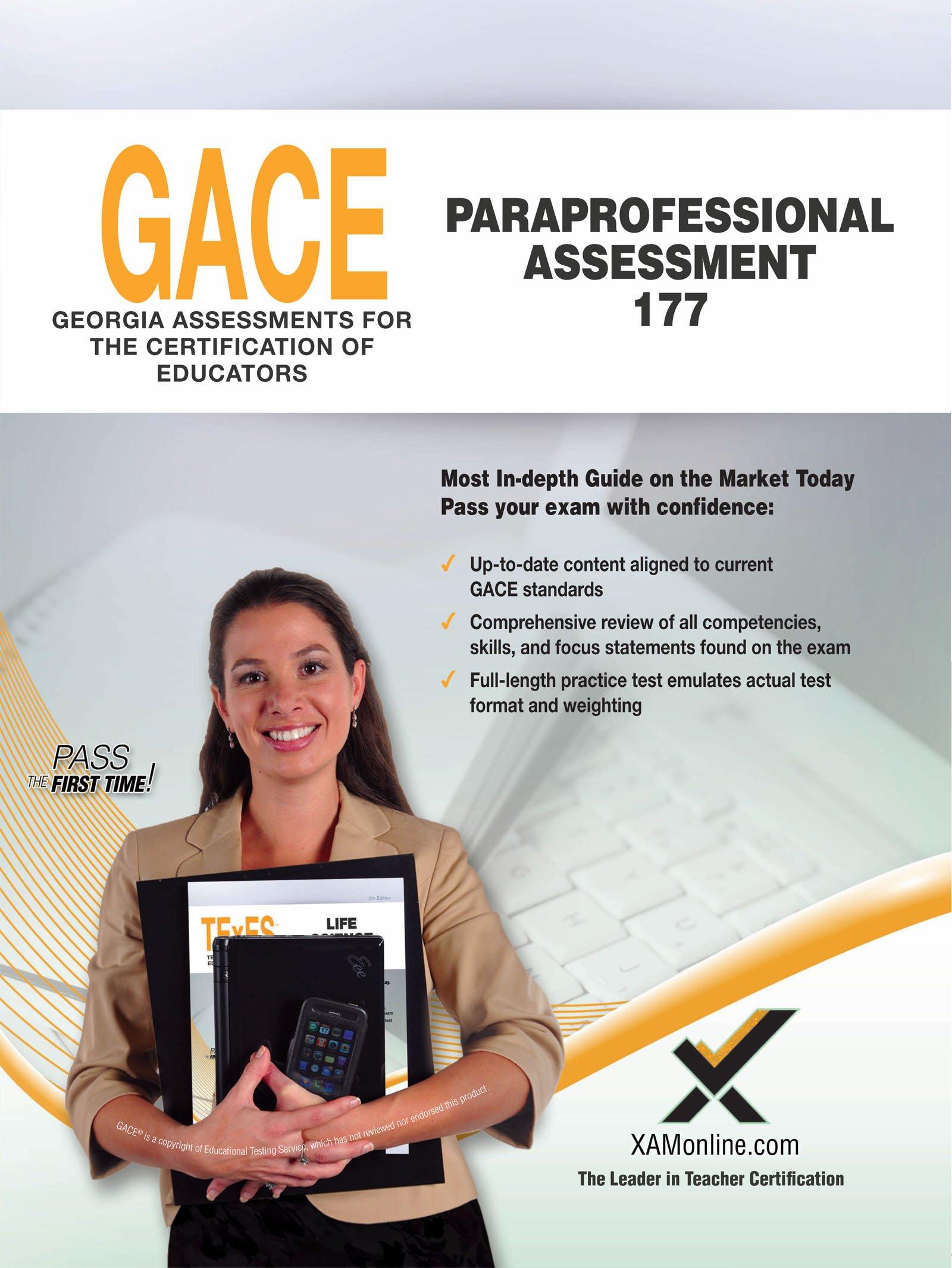 Gace Paraprofessional Assessment 177 Amazon Sharon A Wynne Books
