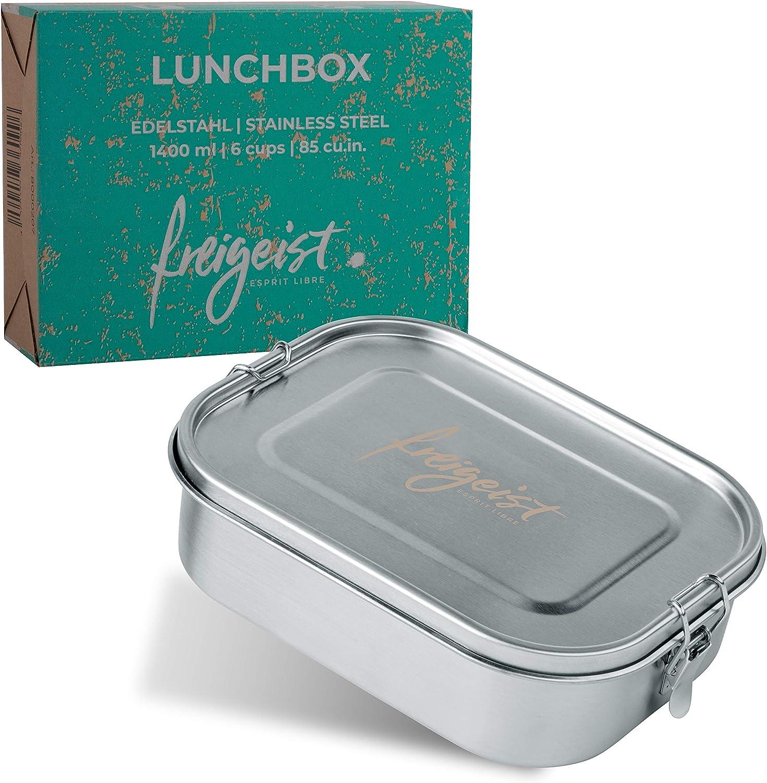 Freigeist Edelstahl Lunchbox auslaufsicher