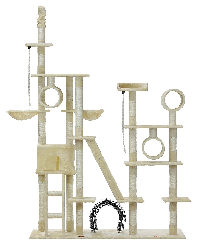 kratzbaum katzenbaum kletterbaum katzenbaum f r katzen kratzbaum deckenhoch xxl toby. Black Bedroom Furniture Sets. Home Design Ideas