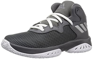 best sneakers 65ce4 a99b6 adidas Boys Explosive Bounce Basketball Shoe, FourMetallic SilverGrey  Five, (