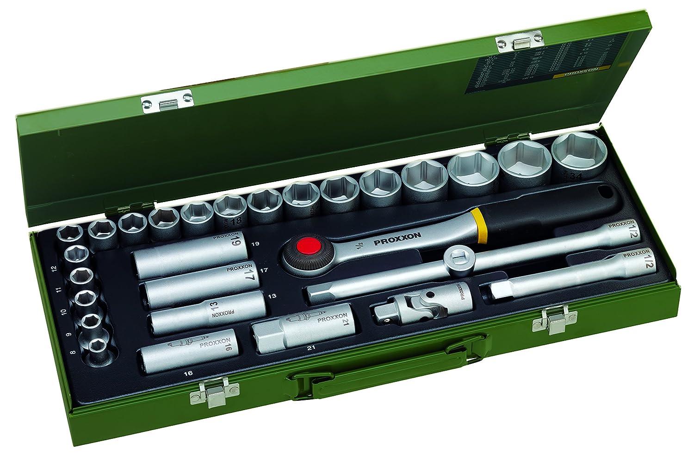 Proxxon 23000 Steckschlü sselsatz 1/2 Zoll, 29-teilig PROXXON GmbH