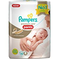Pampers Premium Care Pants New Born, (60 Count)