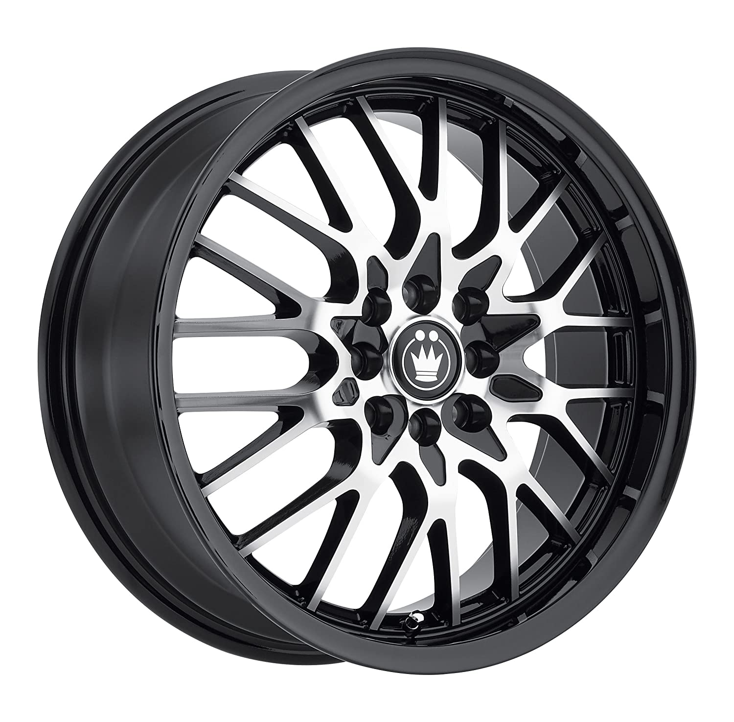 "Konig Lace Black Wheel with Machined Face (15x6.5""/4x100mm)"