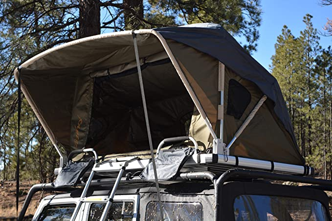 Raptor Series Jeep Truck Rooftop Tent with Ladder
