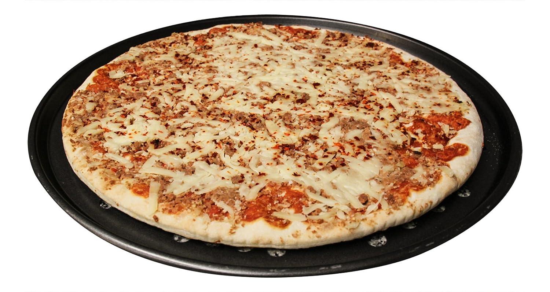 Pizzablech, gelocht, 2er-Set, ca. 33,02 cm Durchmesser, Profi-Set ...