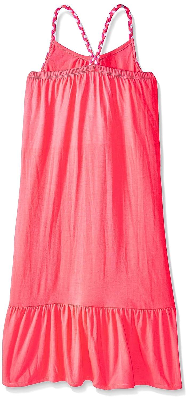pinkhouse Maxi de las Self niñas vestido trenza con Self Coral ...