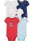 Carter's Baby Girls' 5-Pack Bodysuits 126g330
