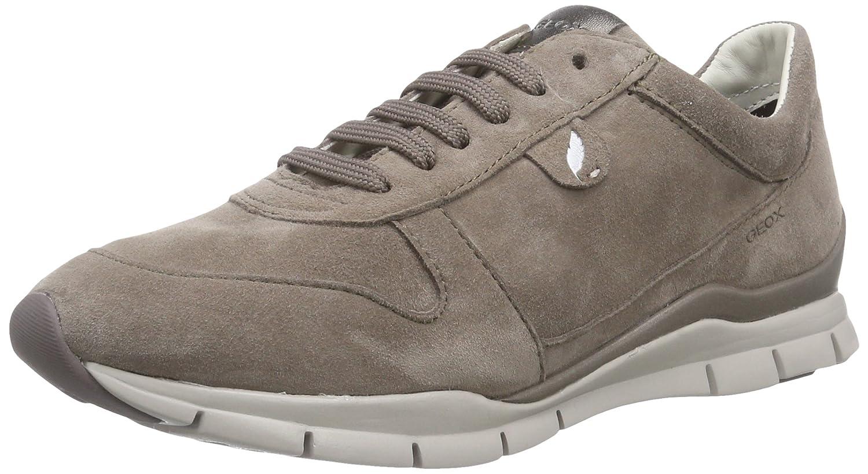 Geox D Sukie A Sneaker Donna Beige Smoke GREYC9006 37 EU P3r