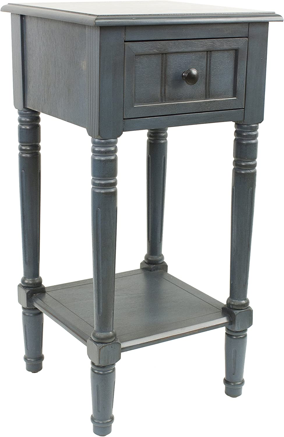 - Amazon.com: Décor Therapy Simplify One Drawer Square Accent Table