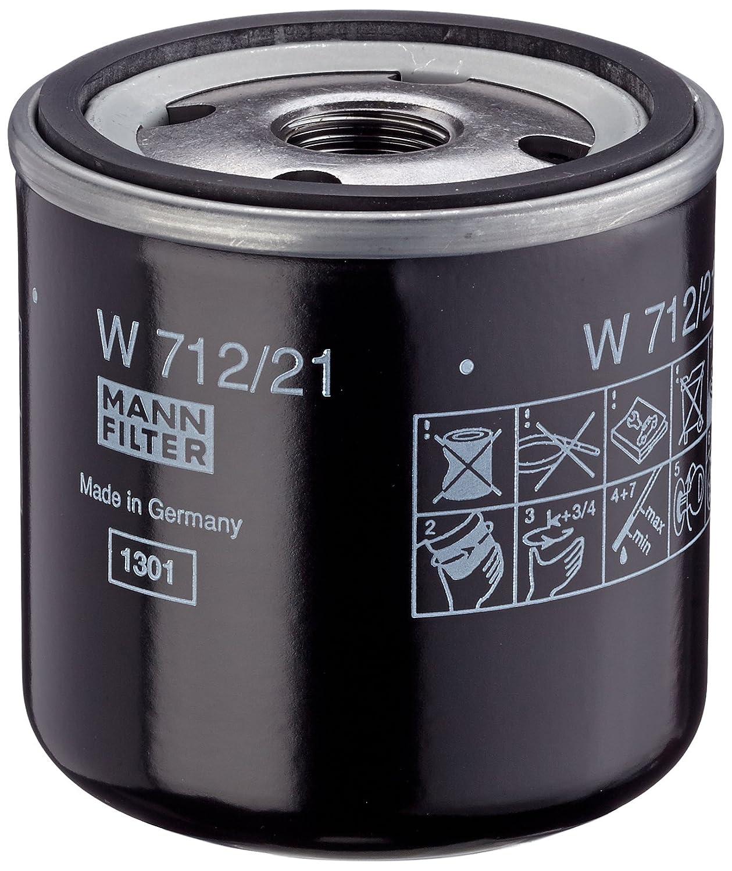 Mann Filter W 712//21 Filtro de Aceite