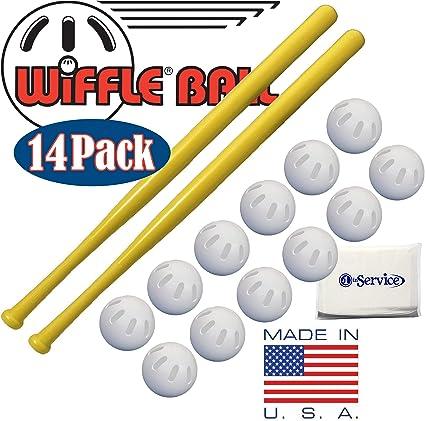 "12 Official Yellow WIFFLE® Ball Baseball Bats Size 32/"""