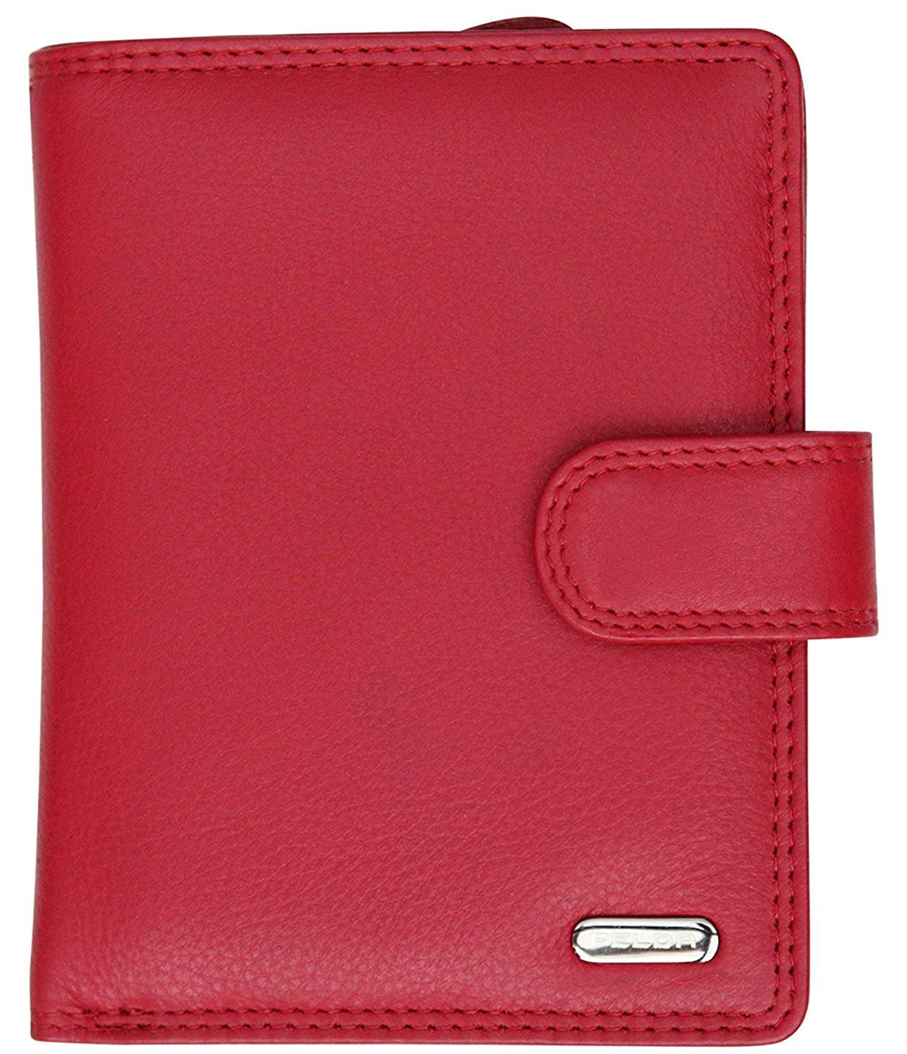 Felda Ladies Genuine Leather Medium Purse - RFID Protection and 9 Card Slots
