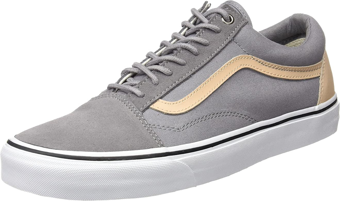 Vans Herren Ua Old Skool Sneakers, Grau (Veggie Tan Frost Gray/True ...